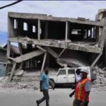 Haiti building damage
