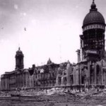 The remains of City Hall, 1906